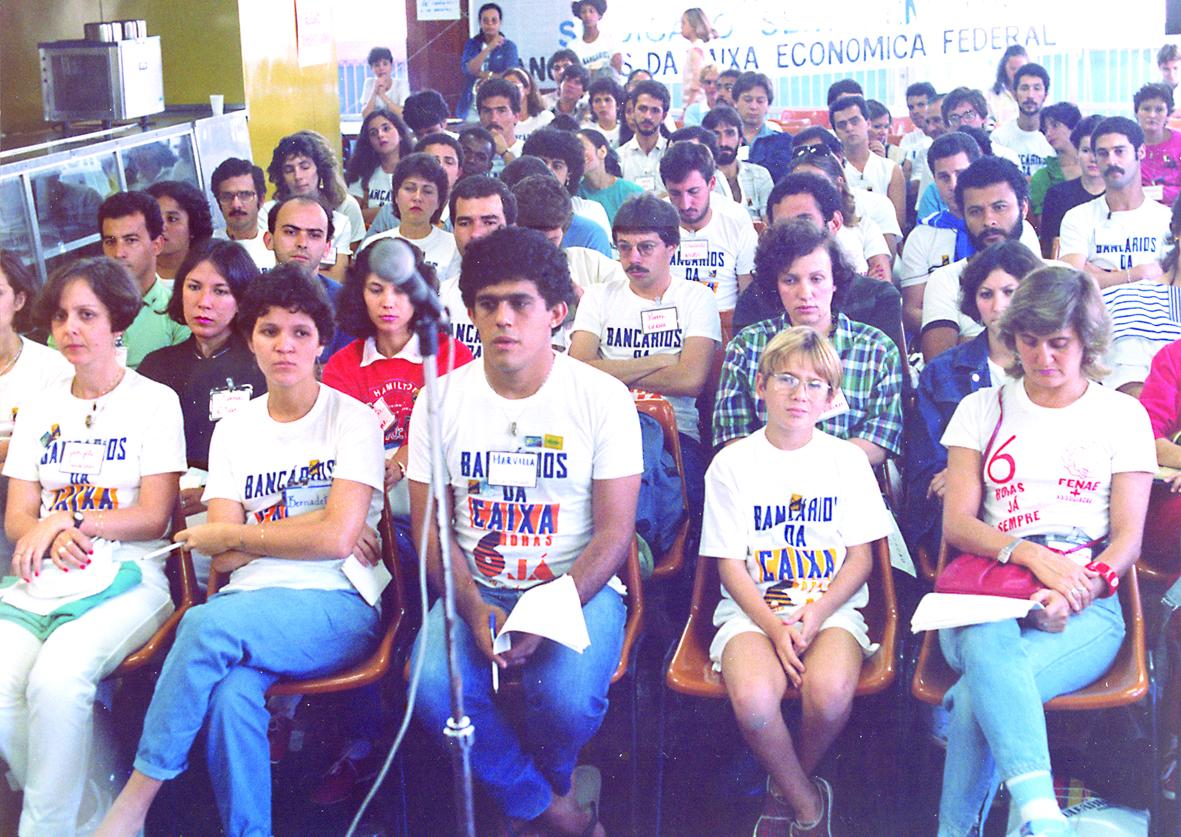 Pauta I - assembleia dos empregados da CEF 1985