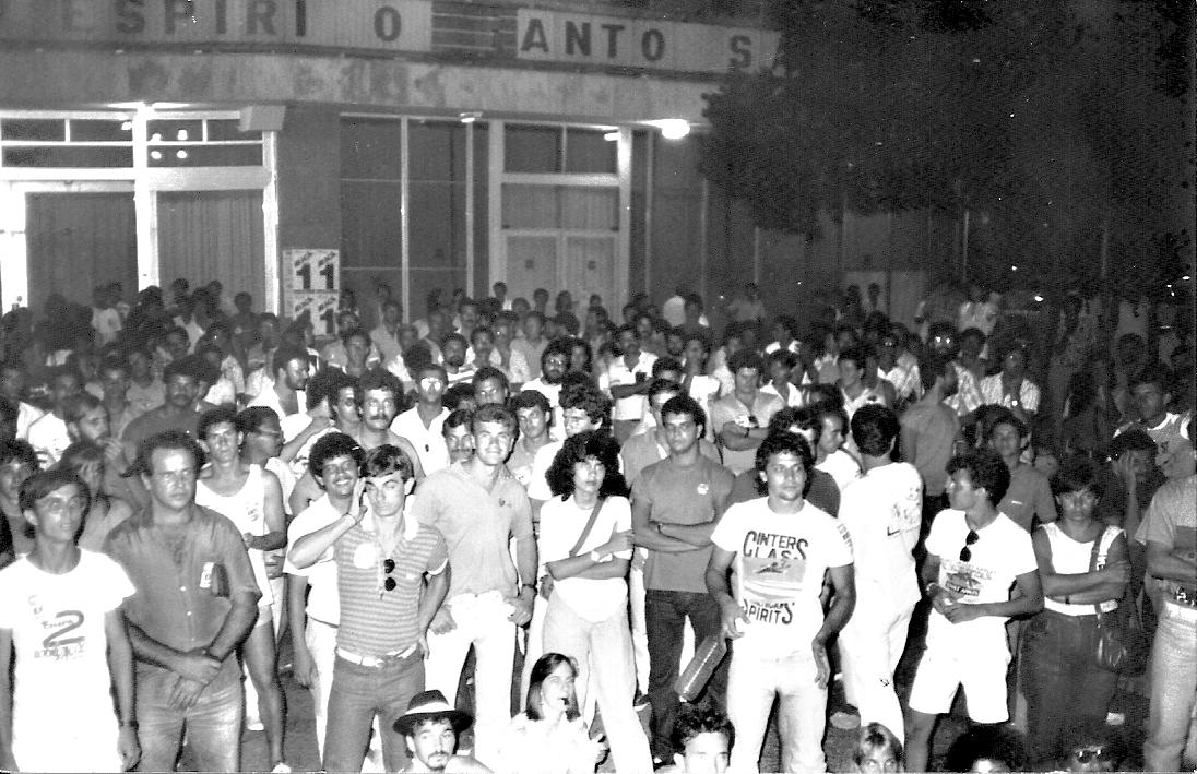 Greve de 1987 - assembleia geral